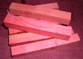 Pink Ivory wood from Griffin Exotic Wood